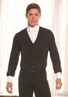 Style MV1 Simple Vest - Men's Dancewear | Blue Moon Ballroom Dance Supply