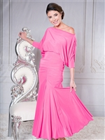 Style S001 Long Tulip Ballroom Skirt - Women's Dancewear  | Blue Moon Ballroom Dance Supply