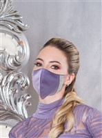 Style Rhinestoned Protective Face Mask - Dance Accessories | Blue Moon Ballroom Dance Supply