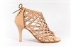 Style Cage Tan Bootie Shoe