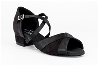 Style Moonstone Black Shoe - Gfranco Dancewear | Blue Moon Ballroom Dance Supply