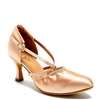 Style IDS American Flex Flesh Satin - Women's Dance Shoes | Blue Moon Ballroom Dance Supply