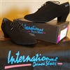 Style CK Line Black Nubuck Practice Shoe | Blue Moon Ballroom Dance Supply