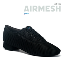 Style IDS Contra Black Airmesh- Men's Dance Shoes | Blue Moon Ballroom Dance Supply