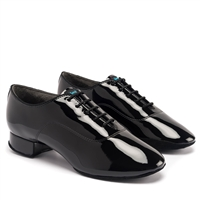 Style IDS Contra Pro Black Patent - Women's Dance Shoes | Blue Moon Ballroom Dance Supply
