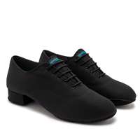 Style IDS Contra Black Lycra- Men's Dance Shoes | Blue Moon Ballroom Dance Supply