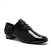Style IDS Gibson Black Snake & Black Patent - Men's Dance Shoes | Blue Moon Ballroom Dance Supply