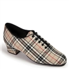 Style IDS Heather Beige Check Full Sole - Women's Dance Shoes | Blue Moon Ballroom Dance Supply