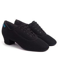 Style IDS Heather Black Airmesh Split Sole - Women's Dance Shoes | Blue Moon Ballroom Dance Supply
