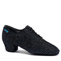Style IDS Heather Black Silver Hologram Split Sole