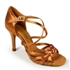 Style IDS Katarina Tan Satin - Women's Dance Shoes | Blue Moon Ballroom Dance Supply