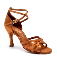 Style IDS Melissa Tan Satin - Women's Dance Shoes | Blue Moon Ballroom Dance Supply
