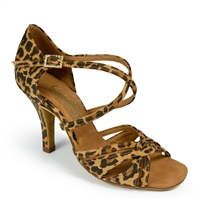 Style IDS Mia Leopard - Women's Dance Shoes | Blue Moon Ballroom Dance Supply