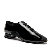 Style IDS Romeo Black Patent - Men's Dance Shoes | Blue Moon Ballroom Dance Supply