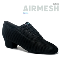 Style IDS Rumba Black Airmesh - Men's Dance Shoes | Blue Moon Ballroom Dance Supply