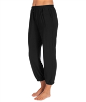 Black Jogger Pant - Ladies Casualwear  | Blue Moon Ballroom Dance Supply