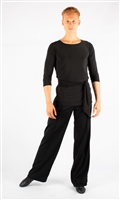 Style Aiden Black Tunic - Men's Dancewear | Blue Moon Ballroom Dance Supply