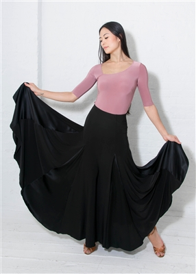 Style Alexa Ballroom Skirt Black | Blue Moon Ballroom Dance Supply