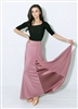 Style Alexa Ballroom Skirt Dusty Rose | Blue Moon Ballroom Dance Supply