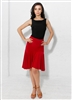 Style Camilla Red Ruffle Skirt - Women's Dancewear | Blue Moon Ballroom Dance Supply