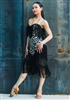 Style Miari Coco Animal Print Fringe Dress - Women's Dancewear | Blue Moon Ballroom Dance Supply