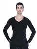 Style Jay V-Neck Long Sleeve Shirt - Men's Dancewear | Blue Moon Ballroom Dance Supply