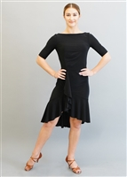 Style Miari Kaia Black Short Latin Dress - Women's Dancewear | Blue Moon Ballroom Dance Supply