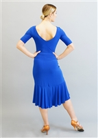 Style Miari Kaia Cobalt Blue Short Latin Dress - Women's Dancewear | Blue Moon Ballroom Dance Supply