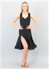 Style Lola Short Dress Black Flamenco Mesh - Women's Dancewear | Blue Moon Ballroom Dance Supply