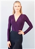 Style London Bodysuit Plum Top - Dancewear | Blue Moon Ballroom Dance Supply