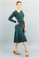 Style Nora Dress Forest Green | Blue Moon Ballroom Dance Supply
