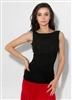 Style Paige Sleeveless Black Top - Dancewear | Blue Moon Ballroom Dance Supply