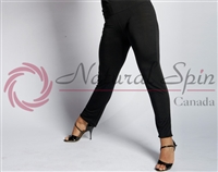 Style NS 10Pa001 Black Slim Fit Pant