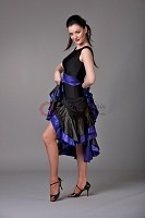 Style NS BD13 Black with Indigo Ballroom Dress