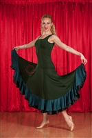Style NS BD13 Dark Green Ballroom Dress