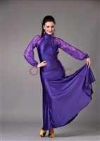 Style NS BD15 Purple Ballroom Dress