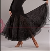 Style NS Black Panel Ballroom Skirt - Women's Dancewear | Blue Moon Ballroom Dance Supply