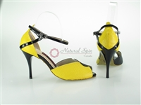 Style NS Buenos Aires Yellow & Black Snake Print