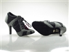 Style NS Tango Sneaker Grey Suede and Black Net-B | Blue Moon Ballroom Dance Supply