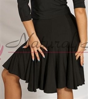 Style NS L030S Black Swing Skirt for Dance | Blue Moon Ballroom Dance Supply