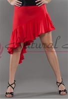 Style NS L08006 Red Latin Skirt