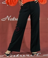Style NS LP11 Black Trouser Pant - Dancewear | Blue Moon Ballroom Dance Supply