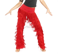 Style NS LP12 Red Fringe Pant
