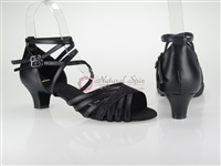 Style NS Quito Black Leather Strappy