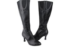 Style PP205 Black Leather Boot