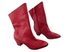 Style PP205A Red Light Leather Ankle Boot - Dance Footwear | Blue Moon Ballroom Dance Supply