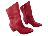 Style PP205A Red Light Leather Ankle Boot