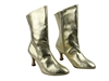 Style PP205A Gold Leather Ankle Boot - Dance Footwear | Blue Moon Ballroom Dance Supply