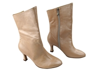 Style PP205A Light Tan Light Leather Ankle Boot
