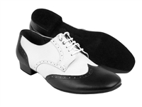 Style PP301 Black Leather & White Leather